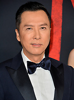 """LOS ANGELES, CA: 09, 2020: Donnie Yen at the world premiere of Disney's """"Mulan"""" at the El Capitan Theatre.<br /> Picture: Paul Smith/Featureflash"""