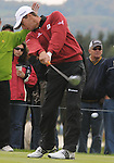 5 October 2008: Charles Howell III hits a tee shot during the final round at the Turning Stone Golf Championship in Verona, New York.
