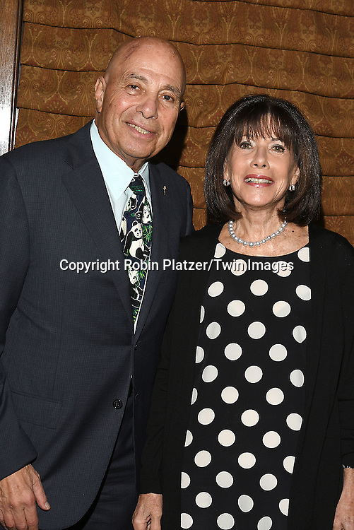 Richard Leibner and wife Carole Leibner  attends the Library of American Broadcasting  Annual Giants of Broadcasting Luncheon on October 6, 2016 at Gotham Hall in New York City. <br /> <br /> photo by Robin Platzer/Twin Images<br />  <br /> phone number 212-935-0770
