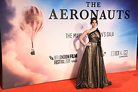 "Felicity Jones<br /> arriving for the ""Aeronauts"" screening as part of the London Film Festival 2019 at the Odeon Leicester Square, London<br /> <br /> ©Ash Knotek  D3523 07/10/2019"