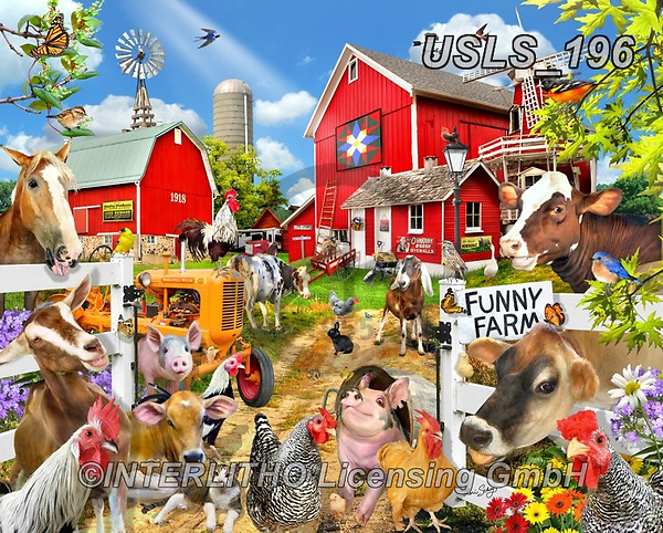 Lori, LANDSCAPES, LANDSCHAFTEN, PAISAJES, paintings+++++Funny Farm_2019_9_before 23objects_72,USLS196,#l#, EVERYDAY ,puzzle,puzzles