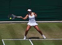 England, London, 27.06.2014. Tennis, Wimbledon, AELTC, Ana Konjuh (CRO)<br /> Photo: Tennisimages/Henk Koster
