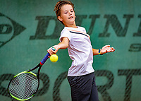 Hilversum, Netherlands, August 8, 2018, National Junior Championships, NJK, Niels van der Sijs (NED)<br /> Photo: Tennisimages/Henk Koster
