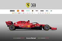 20200211 F1 Presentazione Ferrari