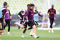 25th May 2021; Gdansk, Poland; Manchester United training at the Stadion Energa Gdańsk prior to their Europa League final versus Villarreal on May 26th;  EDINSON CAVANI
