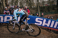 Eli Iserbyt (BEL/Marlux-Bingoal)<br /> <br /> U23 Men's Race<br /> UCI CX Worlds 2018<br /> Valkenburg - The Netherlands