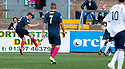 Morton's Decaln McManus (9) scores their first goal.