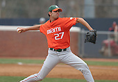 Danny Gil of the Miami Hurricanes vs. the Virginia Cavaliers: March 24th, 2007 at Davenport Field in Charlottesville, VA.  Photo copyright Mike Janes Photography 2007.