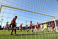 Lewis Cook of Bournemouth clears the ball off of the line during the Premier League match between AFC Bournemouth and Swansea City at Vitality Stadium in Bournemouth, England, UK. Saturday 05 May 2018