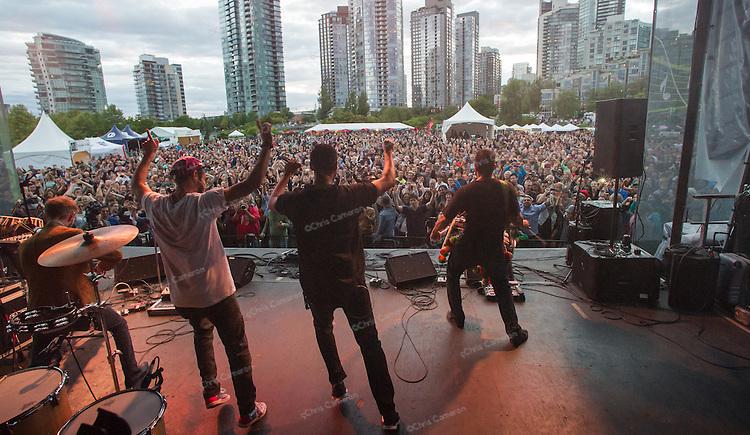 Delhi 2 Dublin at David Lam Park June 28, 2014 TD Vancouver International Jazz Festival