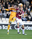 31/10/2009  Copyright  Pic : James Stewart.sct_jspa04_motherwell_v_hearts  . :: ROSS FORBES AND EGGERT JONSSON CHALLENGE :: .James Stewart Photography 19 Carronlea Drive, Falkirk. FK2 8DN      Vat Reg No. 607 6932 25.Telephone      : +44 (0)1324 570291 .Mobile              : +44 (0)7721 416997.E-mail  :  jim@jspa.co.uk.If you require further information then contact Jim Stewart on any of the numbers above.........