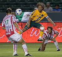 LA Galaxy Fwd and team Captain Cobi Jones during the Necaxa defeat of the LA Galaxy 1-0 in an International friendly match at The Home Depot Center in Carson, California, Wednesday July 12, 2006.