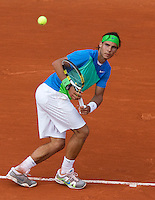 25-05-10, Tennis, France, Paris, Roland Garros, First round match, Rafael Nadal