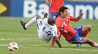 Honduras Ascar Boniek Garcia (14) gets fouled by Costa Rica Celso Borges (5)    Honduras defeated Costa Rica in Penalty Kick 4-2 in the quaterfinals for the 2011 CONCACAF Gold Cup , at the New Meadowlands Stadium, Saturday June 18, 2011.
