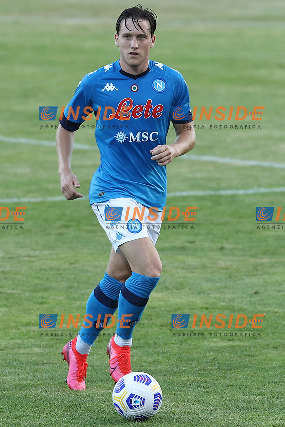 Piotr Zielinski of SSC Napoli<br /> during the friendly football match between SSC Napoli and Castel di Sangro Cep 1953 at stadio Patini in Castel di Sangro, Italy, August 28, 2020. <br /> Photo Cesare Purini / Insidefoto