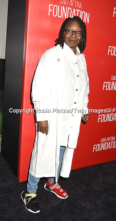 Whoopi Goldberg attends the Grand Opening of SAG-AFTRA Foundation Robin Williams Center on October 5, 2016 at The Robin Williams Center in New York, New York, USA.<br /> <br /> photo by Robin Platzer/Twin Images<br />  <br /> phone number 212-935-0770