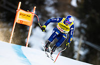26th December 2020; Stelvio, Bormio, Italy; FIS World Cup Mens Downhill;   Dominik Paris of Italy during his 1st training run for the mens downhill race of FIS ski alpine world cup at the Stelvio