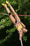 USA's Jenn Suhr tried to break the world record in pole vault at the 16ft and 1 inch mark. The New York Invite Series was hosted at White Birch Golf Course in Lyndonville, New York on May 31, 2013