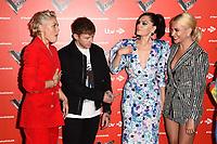 Danny Jones, Jessie J, Emma Willis, Pixie Lott and Will.i.Am<br /> at The Voice Kids 2019 photocall, London<br /> <br /> ©Ash Knotek  D3506  06/06/2019