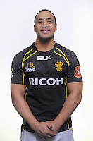 Sinoti Sinoti. Wellington Lions ITM Cup official headshots at Rugby League Park, Wellington, New Zealand on Monday, 12 August 2013. Photo: Dave Lintott / lintottphoto.co.nz