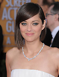Marion Cotillard at 19th Annual Screen Actors Guild Awards® at the Shrine Auditorium in Los Angeles, California on January 27,2013                                                                   Copyright 2013 Hollywood Press Agency