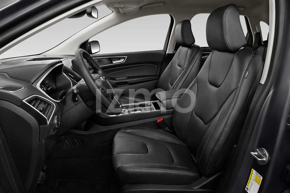 Front seat view of 2021 Ford Edge Titanium-FWD 5 Door suv Front Seat  car photos