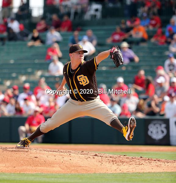 Emilio Pagan - San Diego Padres 2020 spring training (Bill Mitchell)