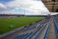 A general view of Sandy Park, home of Exeter Chiefs<br /> <br /> Photographer Bob Bradford/CameraSport<br /> <br /> Gallagher Premiership Semi-Final - Exeter Chiefs v Bath Rugby - Saturday 10th October 2020 - Sandy Park - Exeter<br /> <br /> World Copyright © 2020 CameraSport. All rights reserved. 43 Linden Ave. Countesthorpe. Leicester. England. LE8 5PG - Tel: +44 (0) 116 277 4147 - admin@camerasport.com - www.camerasport.com