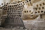 Israel, Shephelah, the columbarium in Hurvat Midras