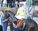 September 27, 2014: Belle Gallantry with Jose Ortiz win the 76th running of the $400,000 Grade I Beldame Stakes for fillies & mares, 3-year olds & up, going 1 1/8 mile at Belmont Park. Trainer: Rudy R. Rodriguez. Owner: Michael Dubb, Bethlehem Stables LLC., Gary Aisquith . Sue Kawczynski/ESW/CSM