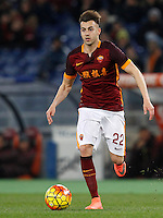 Calcio, Serie A: Roma vs Sampdoria. Roma, stadio Olimpico, 7 febbraio 2016.<br /> Roma's Stephan El Shaarawy during the Italian Serie A football match between Roma and Sampdoria at Rome's Olympic stadium, 7 January 2016.<br /> UPDATE IMAGES PRESS/Riccardo De Luca