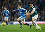 Barrie McKay gets away from Darren McGregor