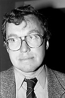 November 28, 1987 File Photo - Montreal, Quebec, CANADA - NDP (New Democratic Party of Canada) Convention -Michael Cassidy