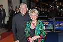 "© Under licence London News Pictures. 01/03/2011. Celebrities arrive for the Opening Night of ""The Wizard of Oz"" at the London Palladium. Gloria Hunniford and husband. Picture credit should read: Jane Hobson/London News Pictures"