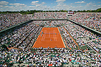 France, Paris, 04.06.2014. Tennis, French Open, Roland Garros,  Court Philippe Chatrier (centercourt)<br /> Photo:Tennisimages/Henk Koster