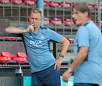 head coach Sebastiaan Veldman of Anderlecht pictured during the warm up before  a friendly soccer game between K Londerzeel SK and RSC Anderlecht Reserves during the preparations for the 2021-2022 season , on Wednesday 21st of July 2021 in Londerzeel , Belgium . PHOTO SEVIL OKTEM   SPORTPIX