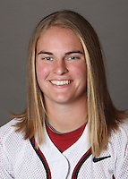 STANFORD, CA - OCTOBER 29:  Shannon Koplitz of the Stanford Cardinal softball team poses for a headshot on October 29, 2009 in Stanford, California.