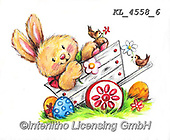 EASTER, OSTERN, PASCUA, paintings+++++,KL4558/6,#e#, EVERYDAY ,sticker,stickers