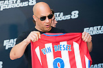 """American actor Vin Diesel during the presentation of the film """"Fast & Furious 8"""" at Hotel Villa Magna in Madrid, April 06, 2017. Spain.<br /> (ALTERPHOTOS/BorjaB.Hojas)"""