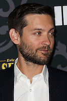 """LOS ANGELES, CA - JANUARY 07: Tobey Maguire arriving at the Los Angeles Screening Of IFC's """"The Spoils Of Babylon"""" held at the Directors Guild Of America on January 7, 2014 in Los Angeles, California. (Photo by Xavier Collin/Celebrity Monitor)"""