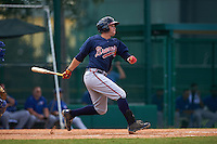 Atlanta Braves Braxton Davidson (70) during an instructional league game against the Toronto Blue Jays on September 30, 2015 at the ESPN Wide World of Sports Complex in Orlando, Florida.  (Mike Janes/Four Seam Images)