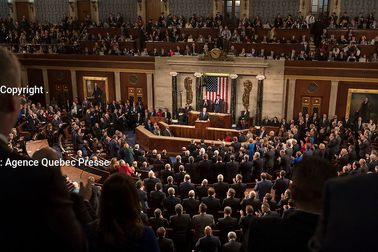 State of the Union 2018 (Official White House Photo by D. Myles Cullen), Januray 30, 2018