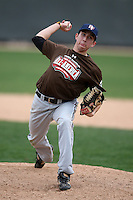 January 17, 2010:  Alec Strand (Norman, OK) of the Baseball Factory Mountain Team during the 2010 Under Armour Pre-Season All-America Tournament at Kino Sports Complex in Tucson, AZ.  Photo By Mike Janes/Four Seam Images