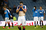Lee Wallace dejection at full time