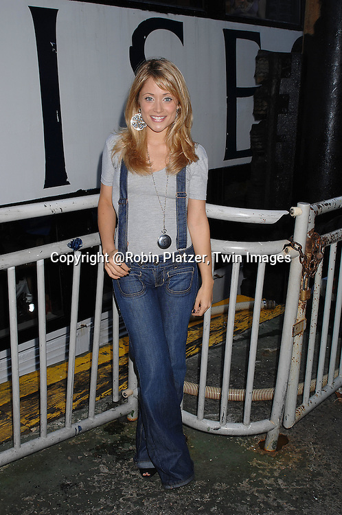 Marcy Rylan..at The Ricky Paull Goldin Cruise on October 7, 2007 on..board The Spirit of the Hudson at Chelsea Piers. ....Photo by Robin Platzer, Twin Images....212-935-0770