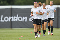 New Zealand Women are seen during a training session at Cardiff University, Cardiff, Wales - 27/07/12 - MANDATORY CREDIT: Gavin Ellis/SHEKICKS/TGSPHOTO - Self billing applies where appropriate - 0845 094 6026 - contact@tgsphoto.co.uk - NO UNPAID USE.