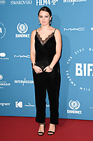 Liv Hill<br /> arriving for the British Independent Film Awards 2018 at Old Billingsgate, London<br /> <br /> ©Ash Knotek  D3463  02/12/2018