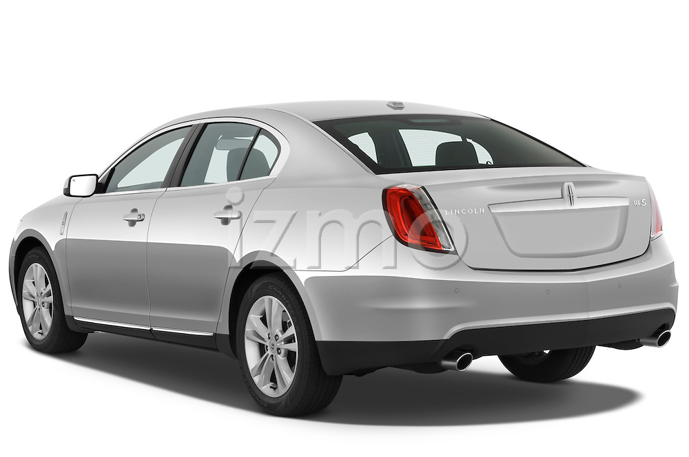 Rear three quarter view of a 2010 Lincoln MKS FWD