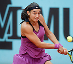 Caroline Garcia, Francia, during Madrid Open Tennis 2016 match.May, 3, 2016.(ALTERPHOTOS/Acero)