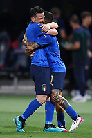 Lorenzo Insigne of Italy celebrates after scoring a goal <br /> Uefa European friendly football match between Italy and Czech Republic at stadio Renato Dall'Ara in Bologna (Italy), June, 4th, 2021. Photo Image Sport / Insidefoto
